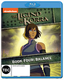 Legend Of Korra: Book Four on Blu-ray