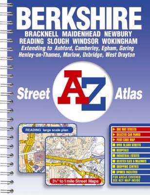 A-Z Berkshire Street Atlas image