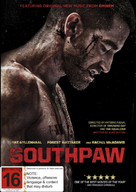 Southpaw on DVD