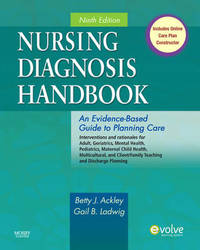 Nursing Diagnosis Handbook: An Evidence-Based Guide to Planning Care by Betty J Ackley image