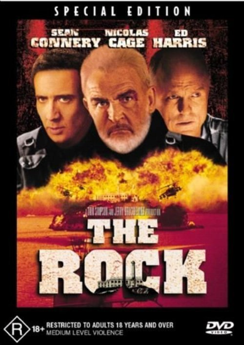 The Rock on DVD image