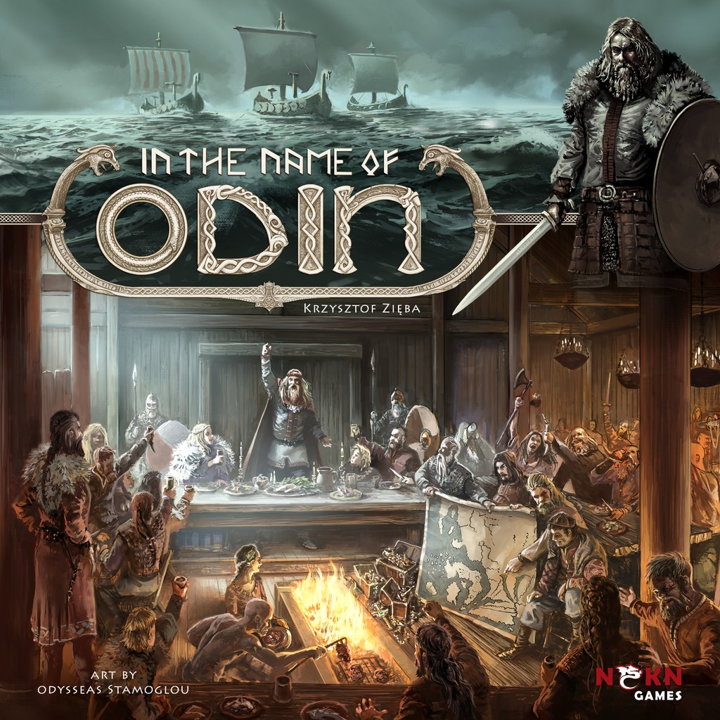 In the Name of Odin - Board Game image