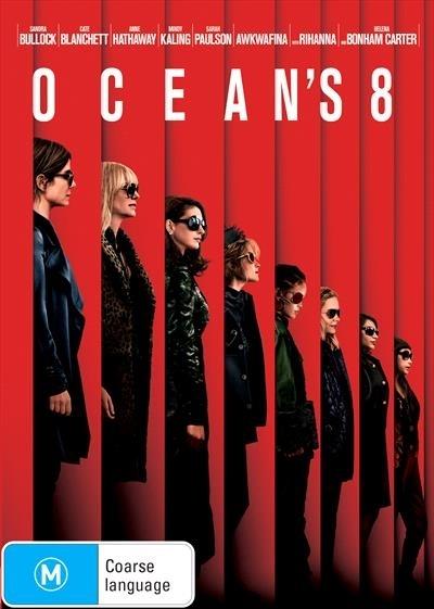 Ocean's 8 on DVD image