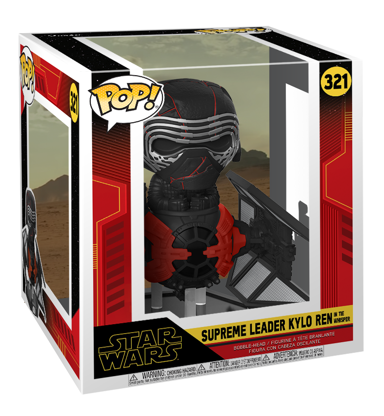 Star Wars: Kylo Ren & TIE Whisper - Pop! Deluxe Figure image