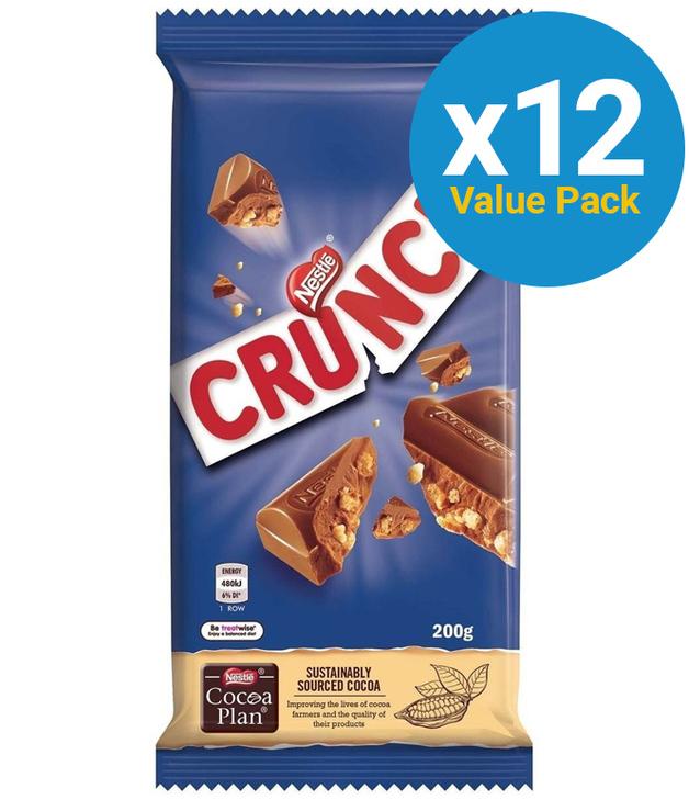 Nestle Crunch 200g (12 Pack)