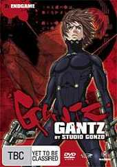 Gantz - Vol. 7: Endgame on DVD