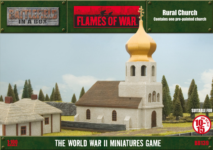 Flames of War - Rural Church image