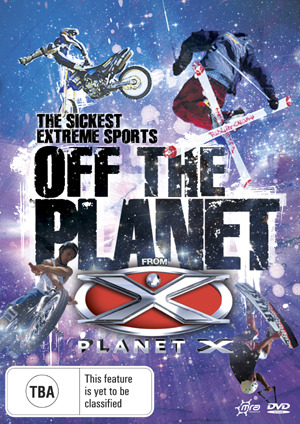 Planet X - Off The Planet on DVD