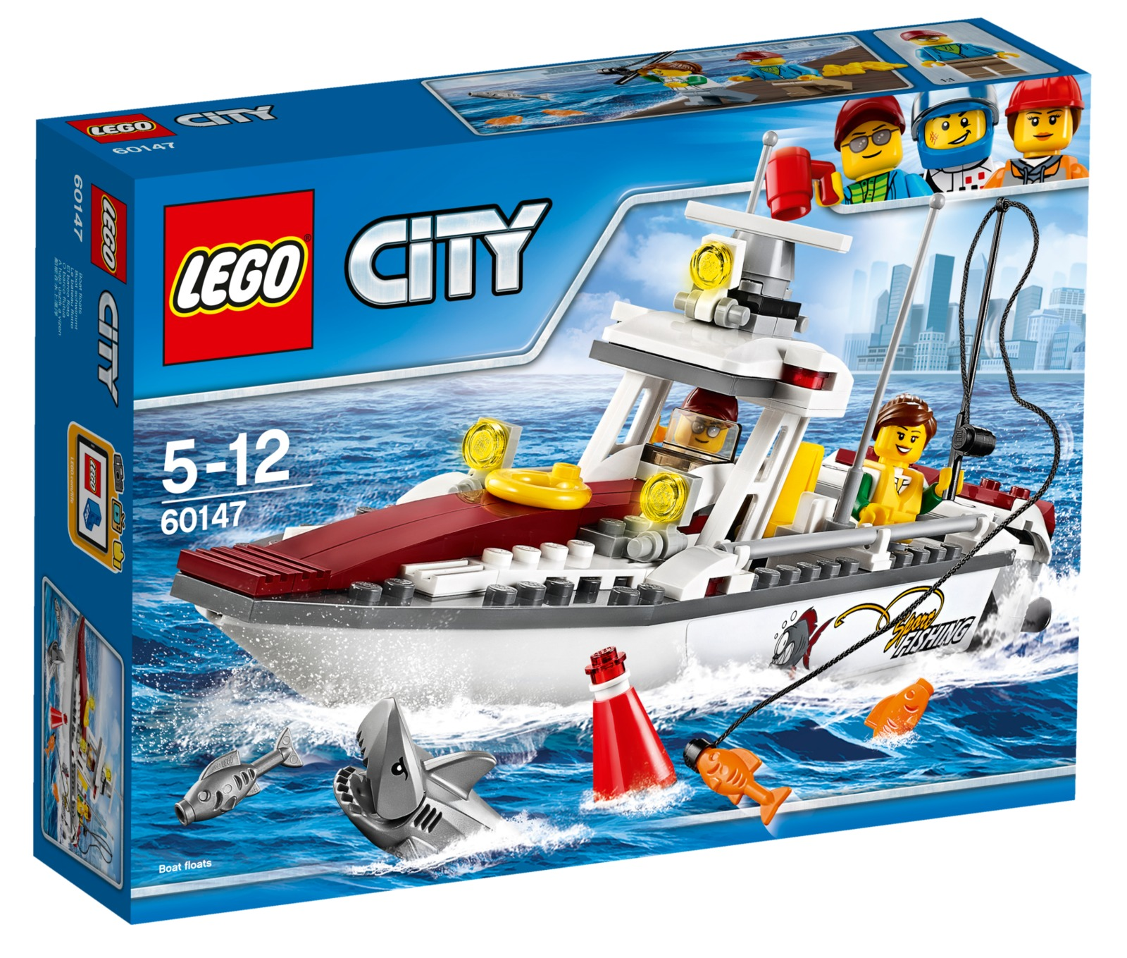 LEGO City: Fishing Boat (60147) image