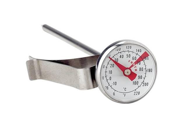 Milk Thermometer 27mm W-Clip