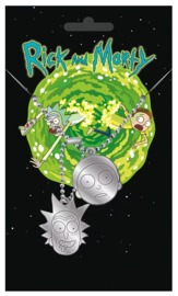 Rick and Morty - Dog Tag Necklace