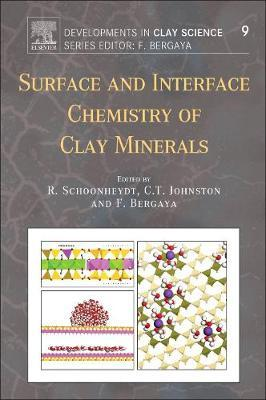 Surface and Interface Chemistry of Clay Minerals: Volume 9 by Johnston image