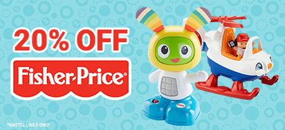 20% off Fisher Price!