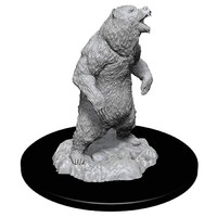 WizKids Deep Cuts: Unpainted Miniatures - Grizzly