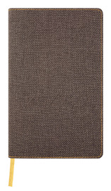 Castelli: Harris Tobacco Brown 2020 Diary Vertical Pocket Weekly image