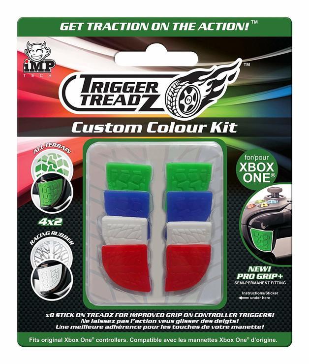 iMP Trigger Treadz Custom Colour Kit - 8 pack for Xbox One