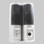 Laser 2.0 Stereo Desktop Speakers