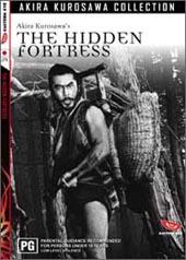 The Hidden Fortress on DVD