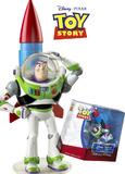 Toy Story Deluxe Figure - Buzz Lightyear with Rocket