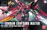 Gundam HGBF Gundam Exia Dark Matter 1/144 Model Kit
