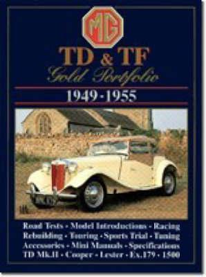 M. G. TD and TF Gold Portfolio 1949-55