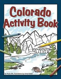 Colorado Activity Book by Paula Ellis image