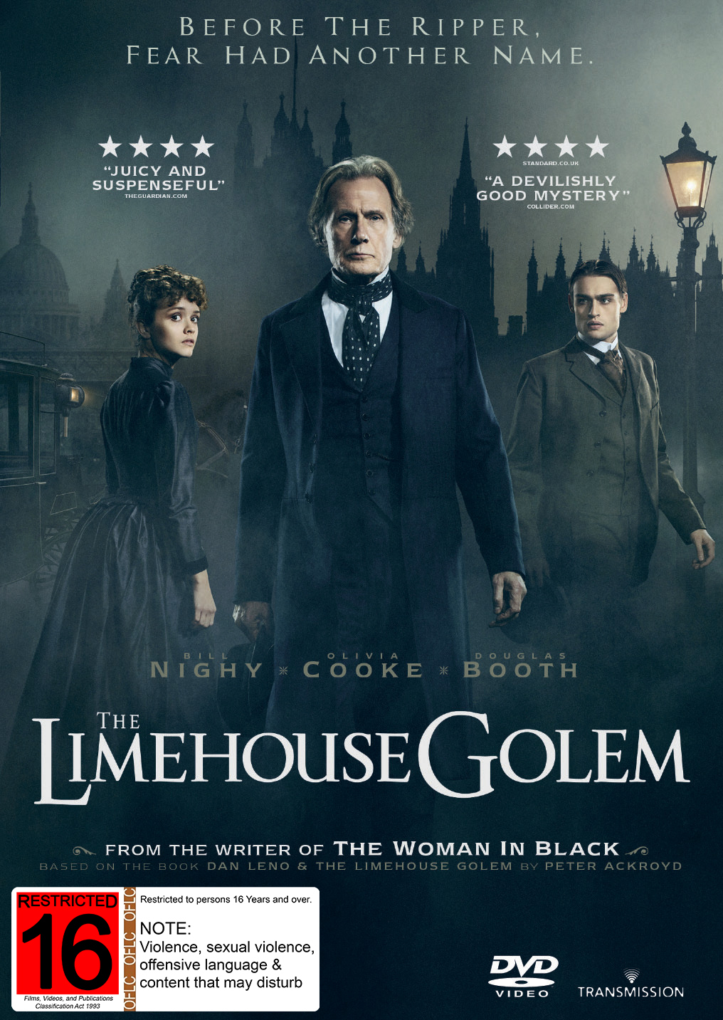 The Limehouse Golem on DVD image