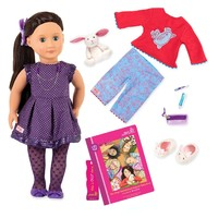 "Our Generation: 18"" Deluxe Doll & Book - Willow"