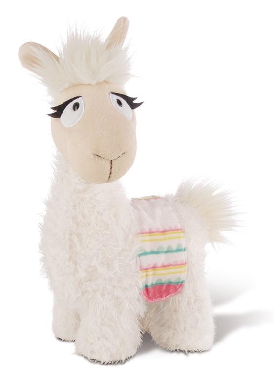 Nici: Llama Dalia with Saddlecloth - 30cm Plush