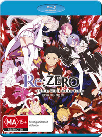 Re:zero Starting Life In Another World Part 1 on Blu-ray