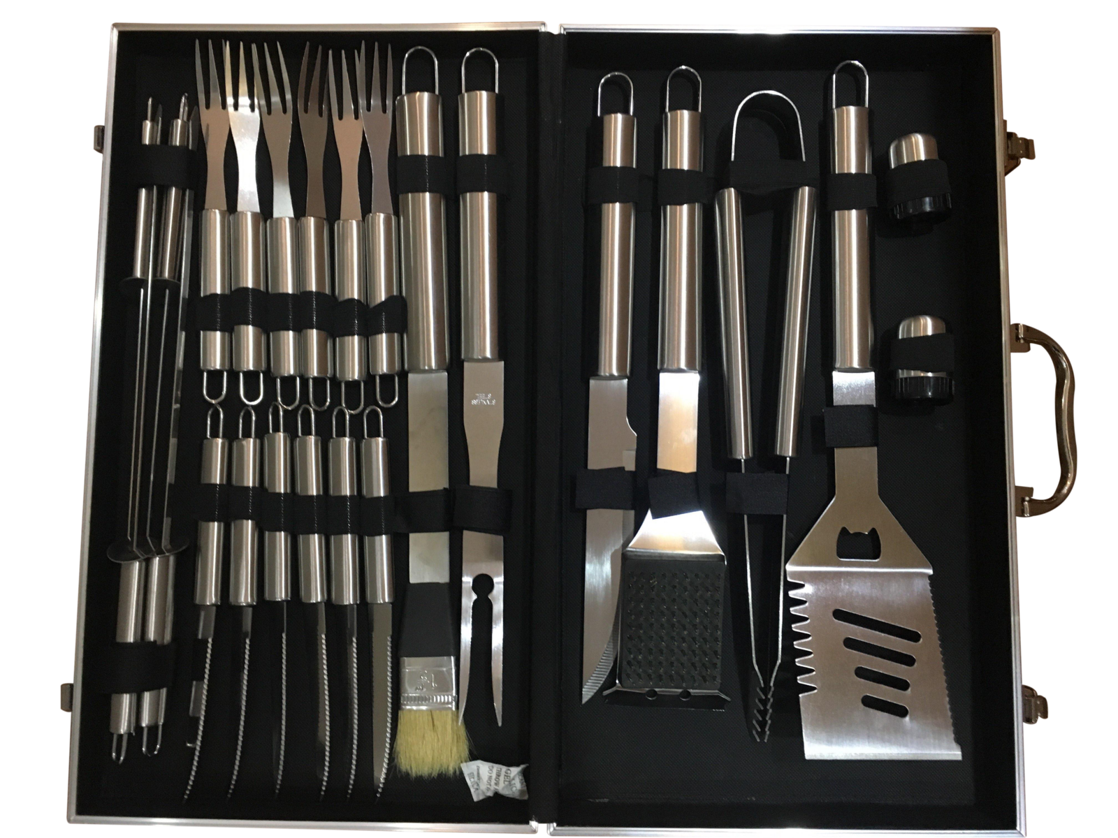 BBQ Grill Tool Set - 24-Piece (With Aluminium Carry Case) image