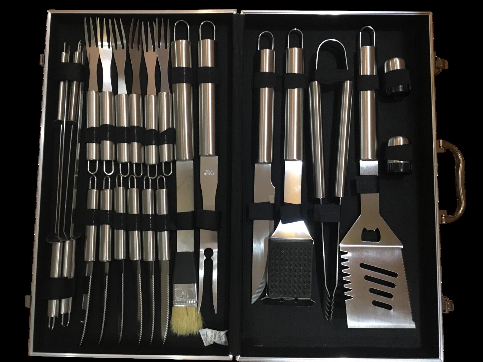 BBQ Grill Tool Set - 24-Piece image