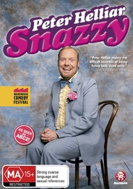 Peter Helliar - Snazzy on DVD