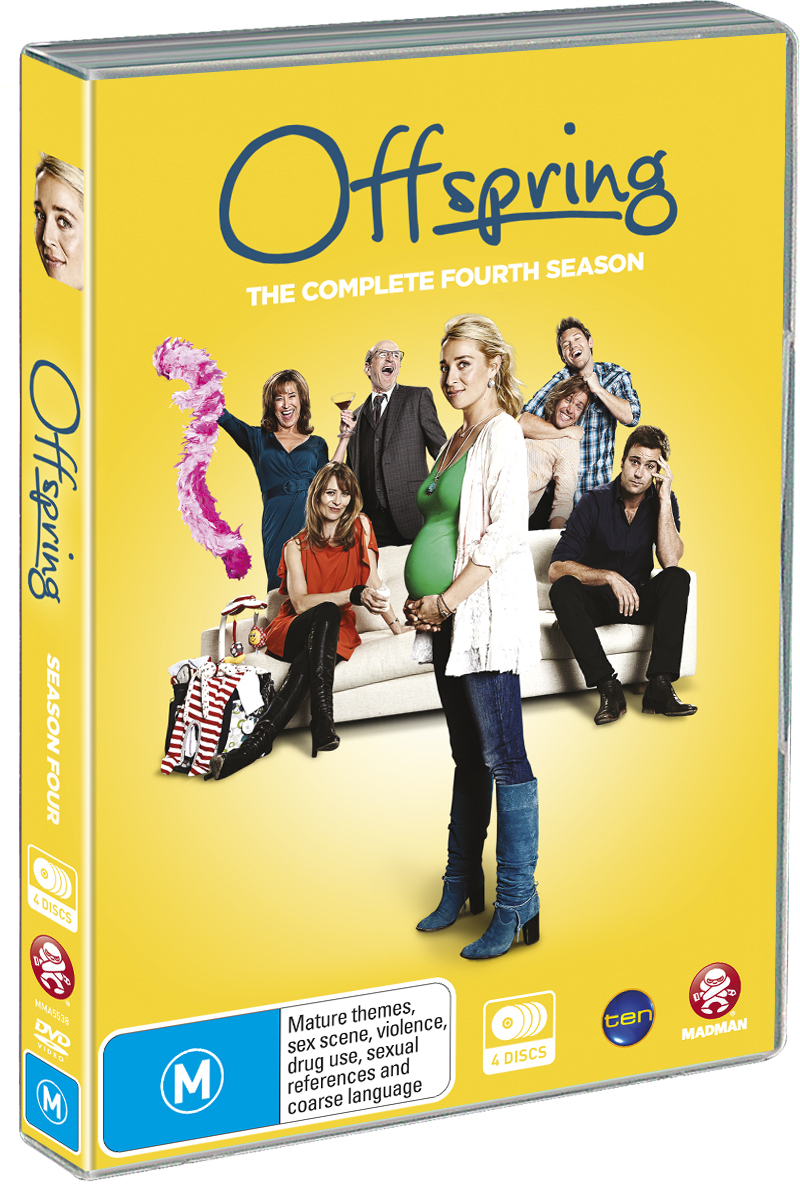 Offspring - The Complete Fourth Season on DVD image