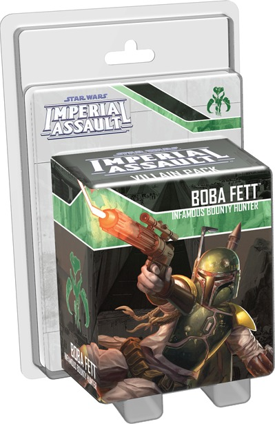 Star Wars: Imperial Assault: Boba Fett Villain Pack