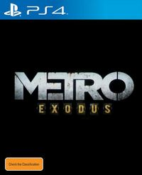Metro Exodus for PS4