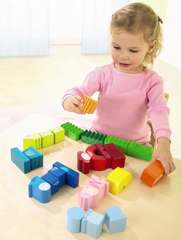 Haba: Animal Blocks - Eeny, Meeny, Miny, Zoo! image