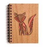 Cardtorial Wooden Journal - Fox