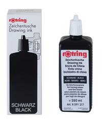 Rotring: Drawing Ink - Black (250ml)