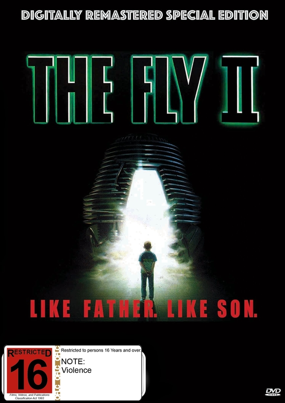 The Fly II - Digitally Remastered Special Edition on DVD