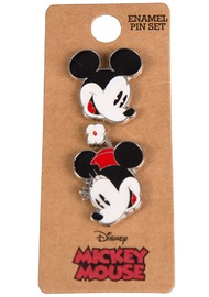 Loungefly: Enamel Pin Set - Mickey & Minnie