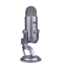 Blue Microphones Yeti Multi-Pattern USB Microphone (Space Grey) for