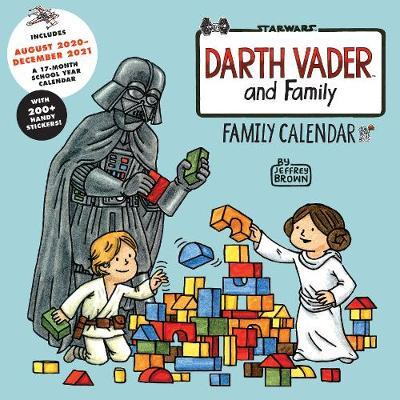 Darth Vader (TM) and Family: Family Wall Calendar (Includes August 2020-December 2021) by Jeffrey Brown