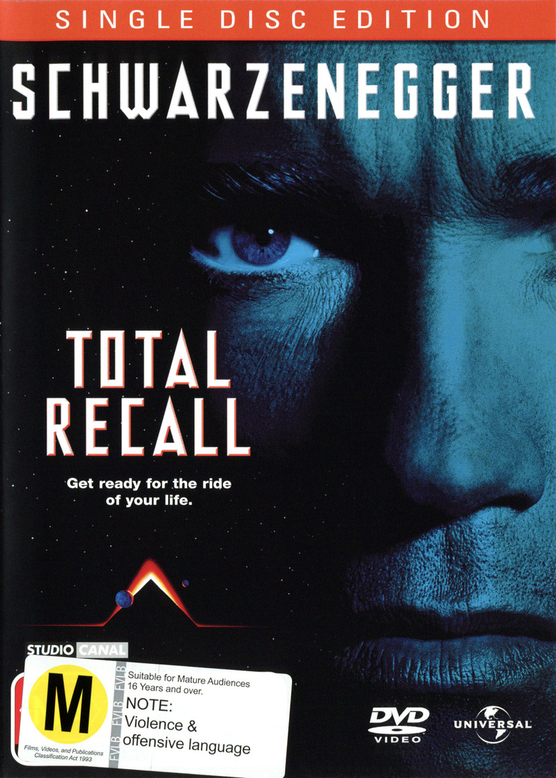 Total Recall - Single Disc Edition on DVD image