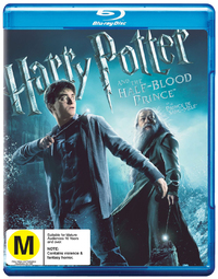 Harry Potter and The Half-Blood Prince on Blu-ray