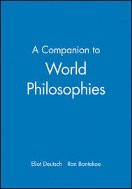 A Companion to World Philosophies image