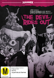 Hammer Horror - The Devil Rides Out on DVD