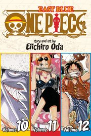 One Piece Omnibus 4: East Blue: 10-11-12 (3 Books in 1) by Eiichiro Oda