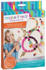Make it Real - Bedazzled! Charm Bracelets Graphic Jungle