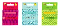 Post-it Notes to Go 3030 - Assorted